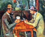 Paul Cezanne The Cardplayers china oil painting reproduction
