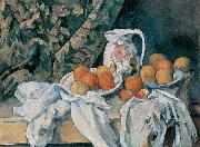 Paul Cezanne Still Life with a Curtain china oil painting reproduction