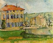 Paul Cezanne Jas de Bouffan china oil painting reproduction