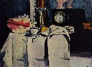 Paul Cezanne The Black Marble Clock china oil painting reproduction