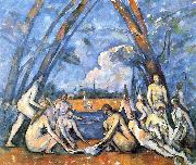 Paul Cezanne Les Grandes Baigneuses china oil painting reproduction