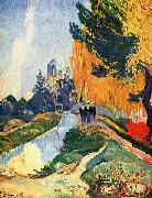 Paul Gauguin Les Alyscamps china oil painting reproduction