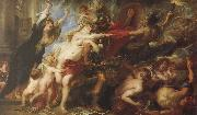Peter Paul Rubens The moral of the outbreak of war china oil painting reproduction
