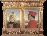 Piero della Francesca Portraits of Federico da Montefeltro and Battista Sforza china oil painting reproduction
