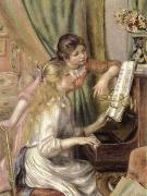 Pierre-Auguste Renoir young girls at the piano china oil painting reproduction