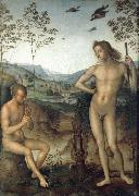 Pietro vannucci called IL perugino Apollo and Marilyn income Ah china oil painting reproduction