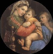 RAFFAELLO Sanzio The virgin mary in the chair china oil painting reproduction