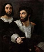 RAFFAELLO Sanzio Together with a friend of a self-portrait china oil painting reproduction