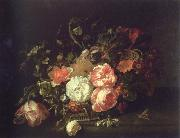 Rachel Ruysch flowers and lnsects china oil painting reproduction