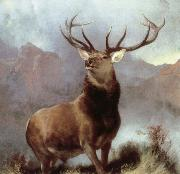 Sir Edwin Landseer monarch of the glen china oil painting reproduction