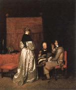 TERBORCH, Gerard parental admonition china oil painting reproduction