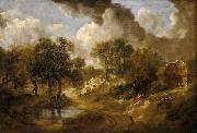 Thomas Gainsborough Landscape in Suffolk china oil painting reproduction