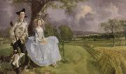 Thomas Gainsborough mr.and mrs.andrews china oil painting reproduction