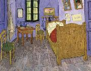 Vincent Van Gogh the bedroom at arles china oil painting reproduction