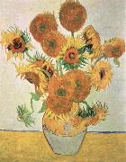 Vincent Van Gogh sun flowers china oil painting reproduction