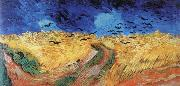 Vincent Van Gogh wheat field with crows china oil painting reproduction