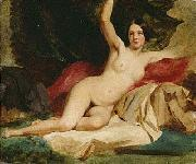 William Etty Female Nude In a Landscape china oil painting reproduction