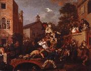 William Hogarth chairing the member china oil painting reproduction
