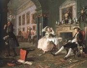 William Hogarth shortly after the marriage china oil painting reproduction