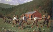 Winslow Homer snap the whip china oil painting reproduction