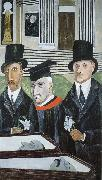 Xie An Sake and Vanzetti's Passion china oil painting reproduction