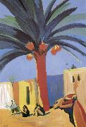 unknow artist Egypt palm china oil painting reproduction