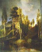 Alexei Savrasov Monastery Gates china oil painting reproduction