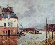 Alfred Sisley Flood at Port Marly, china oil painting reproduction