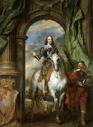 Anthony Van Dyck Charles I with M. de St Antoine china oil painting reproduction