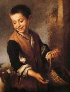 Bartolome Esteban Murillo Juvenile and Dogs china oil painting reproduction