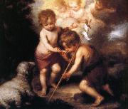 Bartolome Esteban Murillo Shell and the children china oil painting reproduction