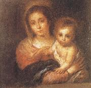 Bartolome Esteban Murillo Napkin Virgin and Child china oil painting reproduction