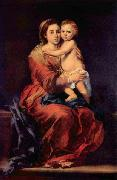 Bartolome Esteban Murillo Madonna with the Rosary china oil painting reproduction