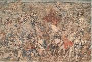 Bernard van orley The Battle of Pavia tapestry, china oil painting reproduction