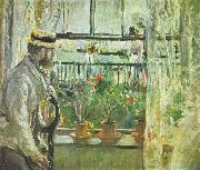 Berthe Morisot Eugene Manet on the Isle of Wight china oil painting reproduction