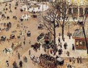 Camille Pissarro Francis Square Theater china oil painting reproduction