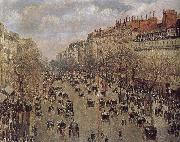 Camille Pissarro street china oil painting reproduction