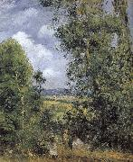 Camille Pissarro forest china oil painting reproduction