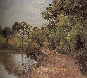 Camille Pissarro pond china oil painting reproduction