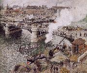Camille Pissarro Bridge china oil painting reproduction
