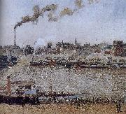 Camille Pissarro St. Sever morning china oil painting reproduction