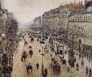 Camille Pissarro the morning the streets of china oil painting reproduction