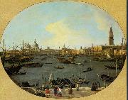 Canaletto Venice Viewed from the San Giorgio Maggiore - Oil on canvas china oil painting reproduction