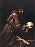 Caravaggio St Francis c. 1606 Oil on canvas china oil painting reproduction