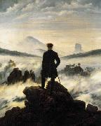 Caspar David Friedrich The Wanderer above the Mists china oil painting reproduction