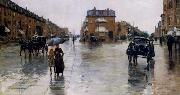 Childe Hassam Regentag in Boston china oil painting reproduction
