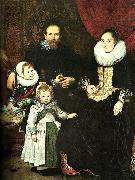 Cornelis de Vos the painter and his family china oil painting reproduction