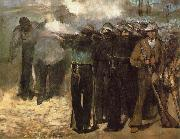 Edouard Manet The Execution of Emperor Maximilian, china oil painting reproduction