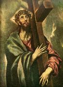 El Greco christ bearing the cross china oil painting reproduction