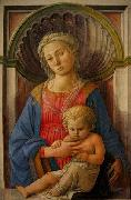 Fra Filippo Lippi Madonna and Child china oil painting reproduction